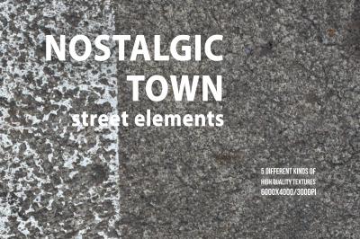 Nostalgic Town: Street Elements