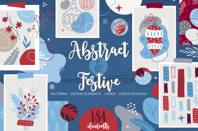 Abstract & Festive Kit