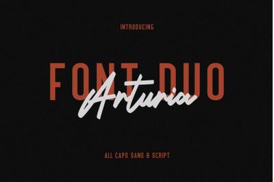 Arturia Script Sans Font Duo