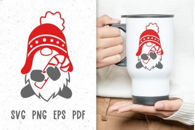 Christmas mug designs svg Christmas gnome svg files for cricut