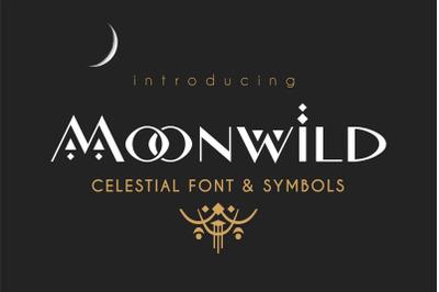 Moonwild - Celestial Font & Symbols