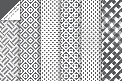 Classic vector seamless backgrounds