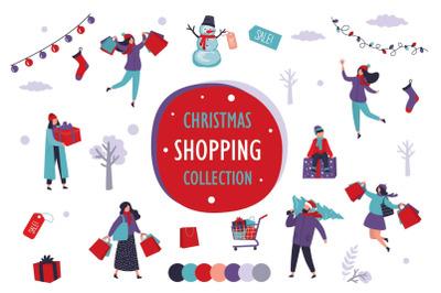 Christmas shopping - big set.