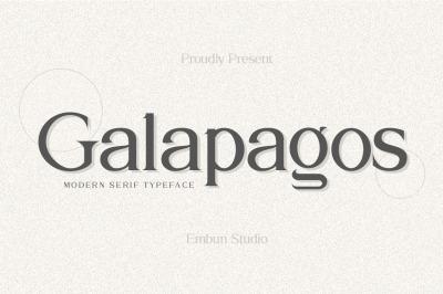 Galapagos Serif