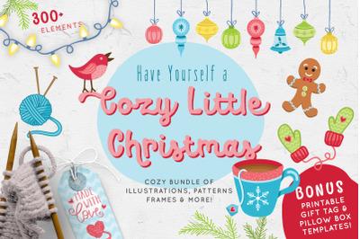 Cozy Little Christmas Illustrations