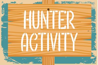 Hunter Activity