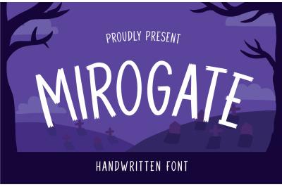 Mirogate Font