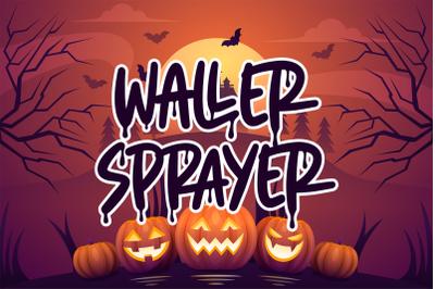 Waller Sprayer