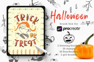 Halloween Stamps for Procreate