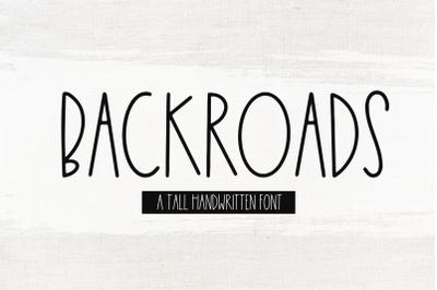 Backroads - Farmhouse Font