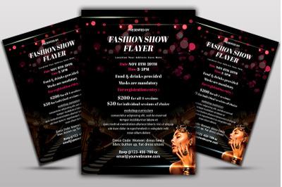 Fashion ShowFlyer