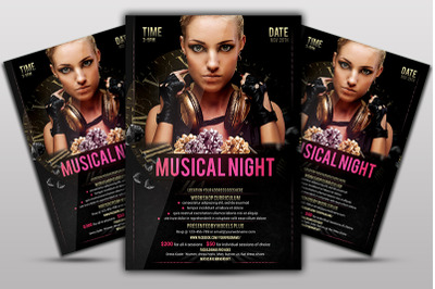 Musical Night Flyer
