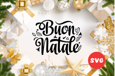 Buon Natale svg Italian Christmas Around the World