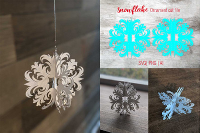 Chrismas Snowflake SVG | Cut file|