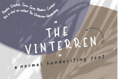The Vinterren Handwritten Font