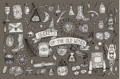 Secrets of the old witch. + Zodiac Signs