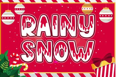 Rainy Snow