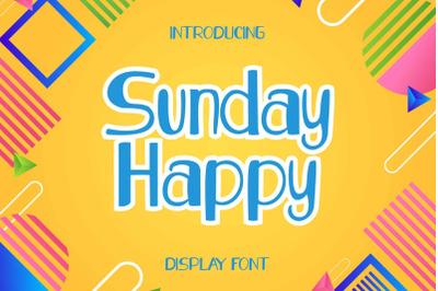 Sunday Happy