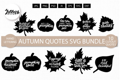 Autumn quotes svg. Thanksgiving, harvest wish svg, dxf. Cutout letteri