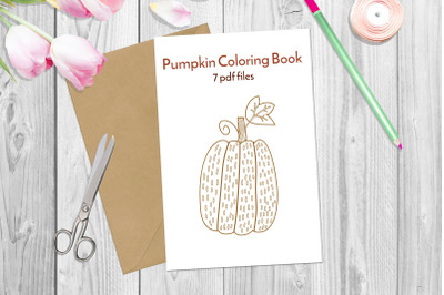 Fall coloring pages. PDF 11