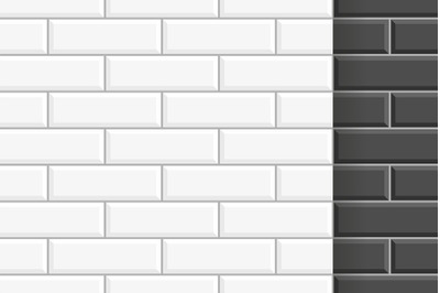 White and Black ceramic tile