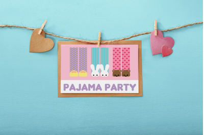 Pajama Party | SVG | PNG | DXF | EPS