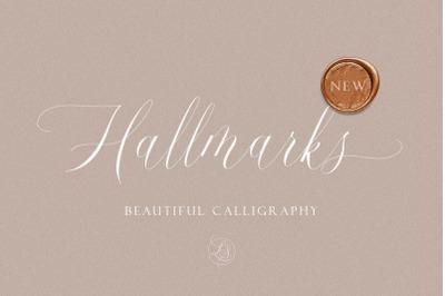 Hallmarks - Beautiful Calligraphy