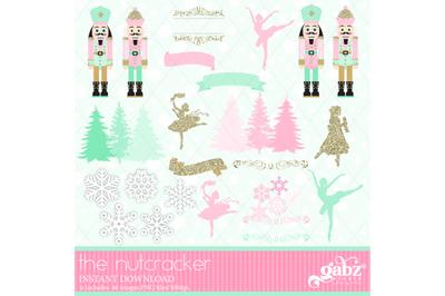 The Nutcracker, Clipart, Decorative, Holidays
