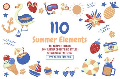 110 Summer Elements
