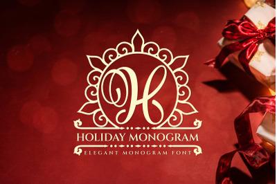 Holiday Monogram
