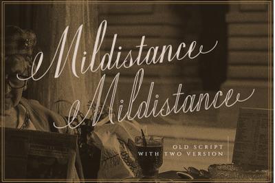 Mildistance - Old Script