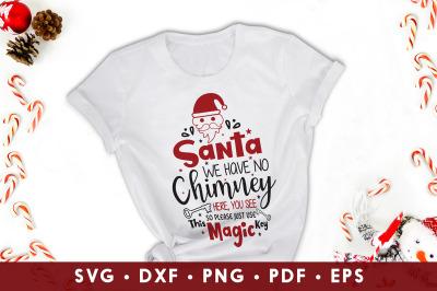 Santa SVG, Santa Stop Here We Have Cookies, Christmas SVG