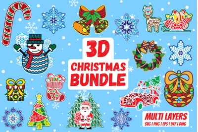 3D Christmas bundle