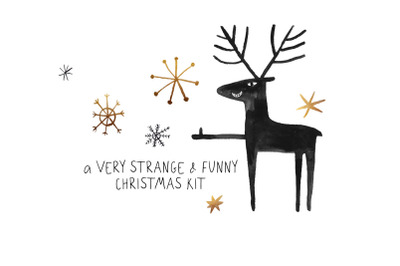 A very strange & funny Christmas kit