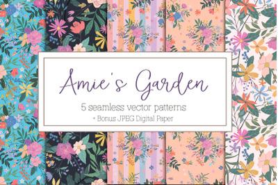 Amie's Garden Floral patterns