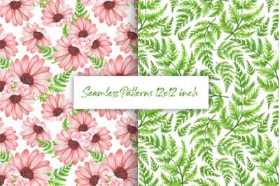 Floral pattern. Digital paper 1
