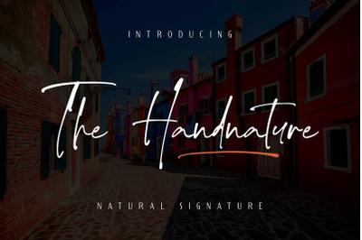 The handnature