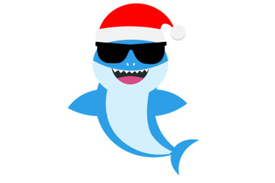 Baby shark Svg, christmas baby shark svg,  Boy Shark clipart, funny sh