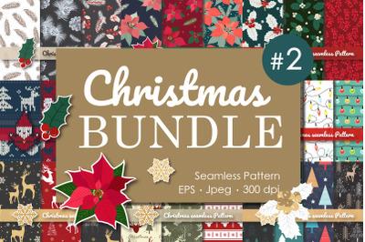 Bundle Christmas Collection Seamless Pattern