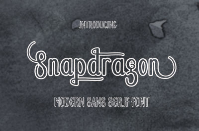 Snapdragon Font Duo