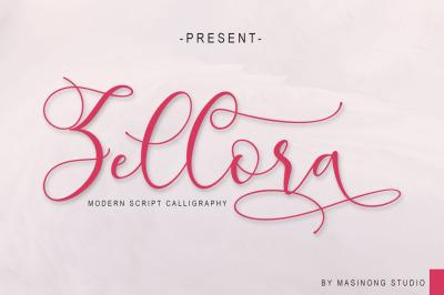 Zellora Script