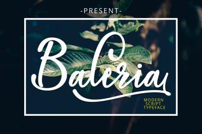 Baleria Script