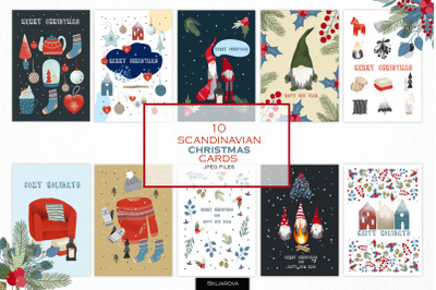 Scandinavian Christmas cards
