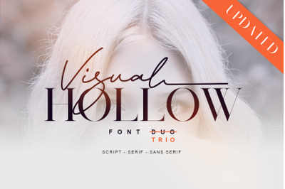 Visual Hollow - Font Trio