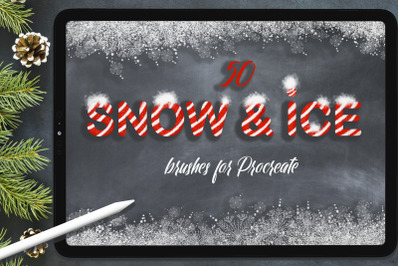 Snow & Ice Procreate Brush Set
