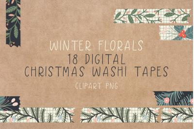 Digital Christmas Washi Tapes