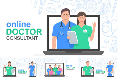 Online consultation doctor
