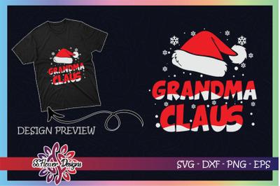 Grandma Claus Christmas Family