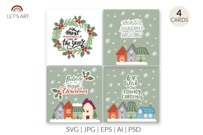 Cozy houses svg. Christmas quotes svg. Christmas phrases svg, Christma