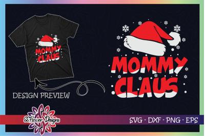 Mommy Claus Christmas Family